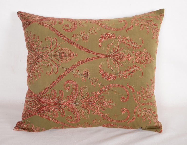 Islamic Antique Paisley Wool Pillow Cases, 19th Century For Sale