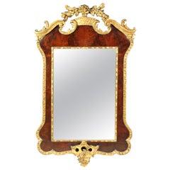 Antique Parcel-Gilt Mirror