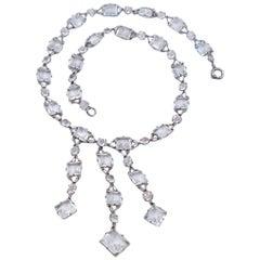 Antique Paste Necklace 1920s