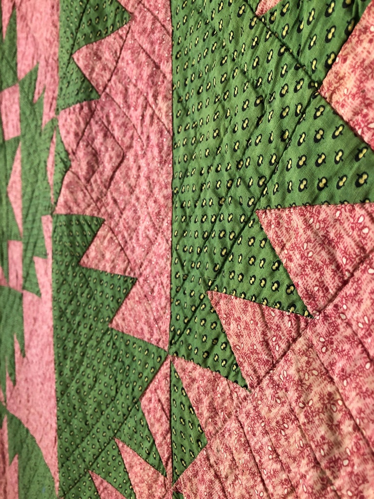 Cotton Antique Patchwork Center Star
