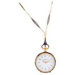 Antique Patek Philippe Open-Face Pendant Pocket Watch