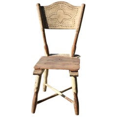 Antique Peasant Chair, circa 1900