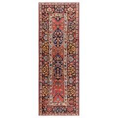 """Antique Persian Bijar Rug 4'10"""" x 14'0"""""""