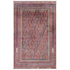 Antique Persian Afshar Carpet, Magnificent, Tribal