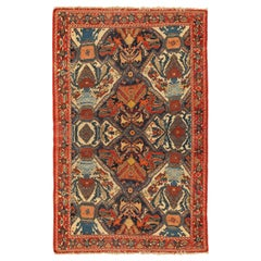 Antique Persian Afshar Rug, circa 1880