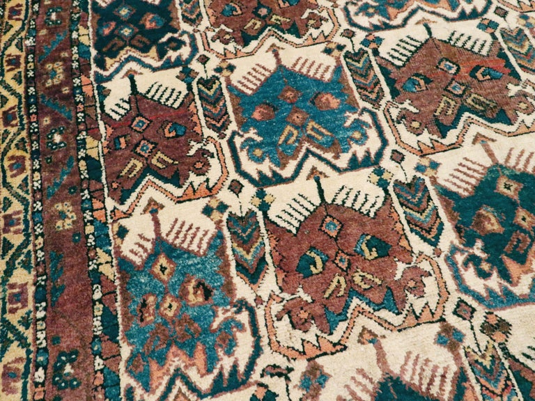20th Century Antique Persian Afshar Rug For Sale