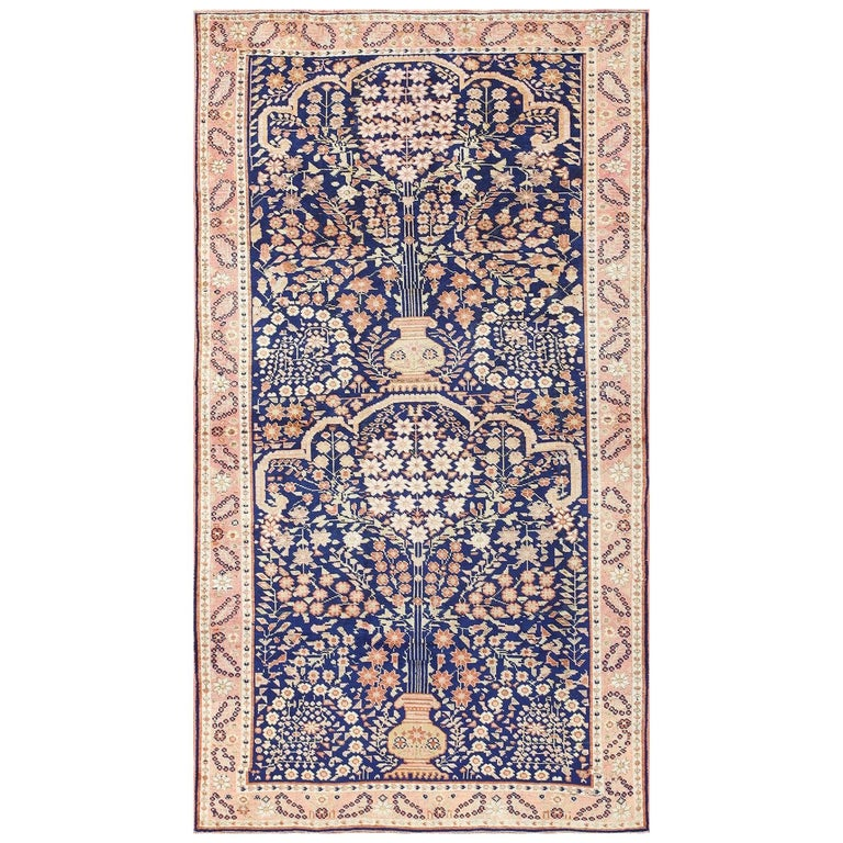 Antique Persian Afshar Rug For Sale