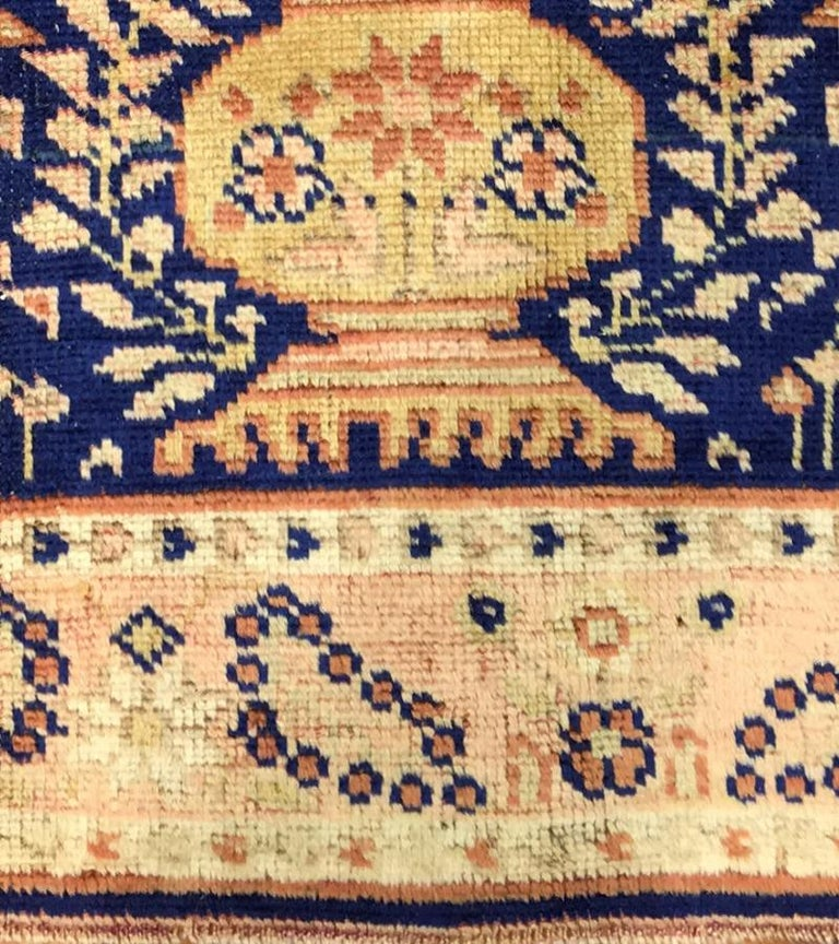 Hand-Knotted Antique Persian Afshar Rug For Sale