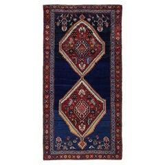 Antique Persian Area Rug Azerbaijan Design
