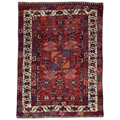 Antique Persian Area Rug Bakhtiar Design