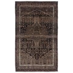 Antique Persian Area Rug Bijar Design