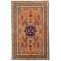 Antique Russian Area Rug Darband Design