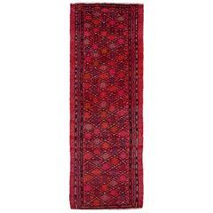 Antique Persian Area Rug Jajim Design
