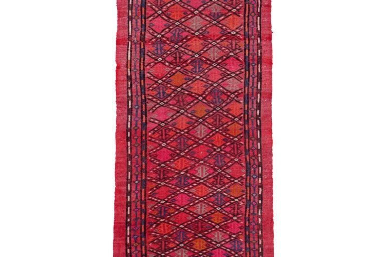 Other Antique Persian Area Rug Jajim Design For Sale