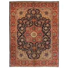 Antique Persian Area Rug Khoy Design