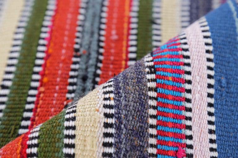 20th Century Antique Persian Area Rug Kilim Design For Sale