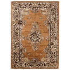 Antique Persian Area Rug Mashad Design