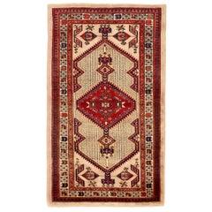 Antique Persian Area Rug Sarab Design