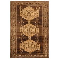 Antique Persian Area Rug Varamin Design