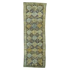 Antique Persian Bakhtiari Excellent Condition Wide Runner Oriental Rug