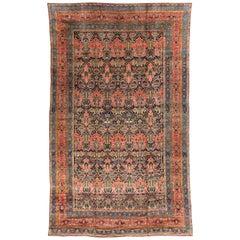 Antique Persian Bakhtiari Rug, circa 1890