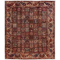 Antique Persian Bakhtiari Rug