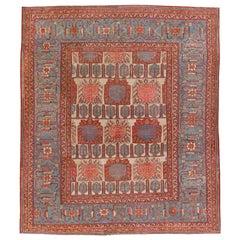 Antique Persian Bakshaish Rug, circa 1880  11'3 x 13'1