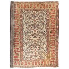 Antique Persian Bakshaish Rug, circa 1890  13' x 17'6