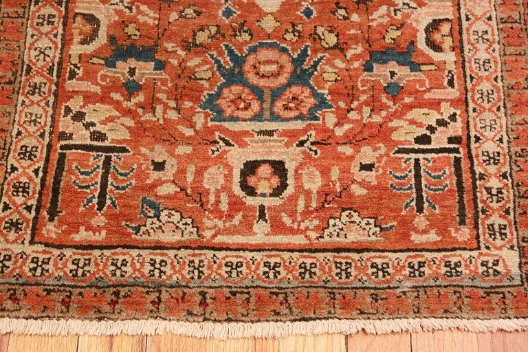 Antique Persian Bakshaish rug, country of origin: Persia, date circa turn of the 20th century.