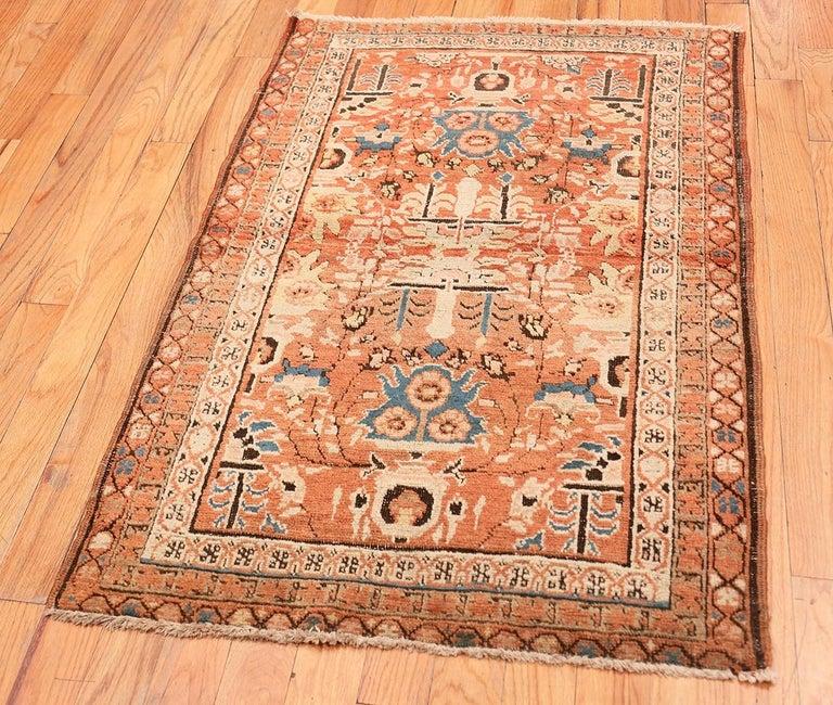 19th Century Antique Persian Bakshaish Rug For Sale