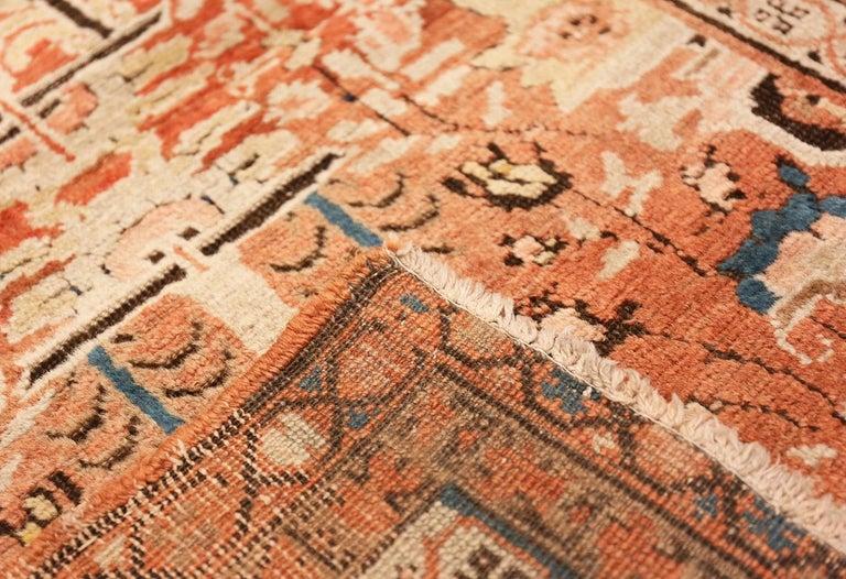 Antique Persian Bakshaish Rug For Sale 1