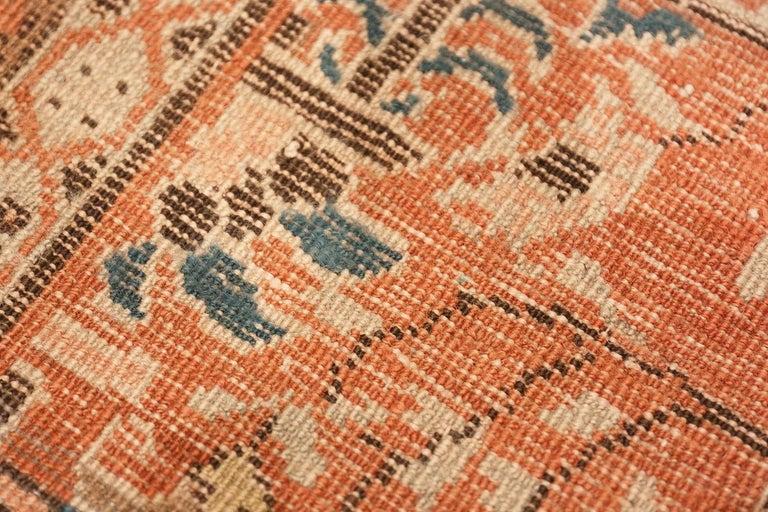 Antique Persian Bakshaish Rug For Sale 2