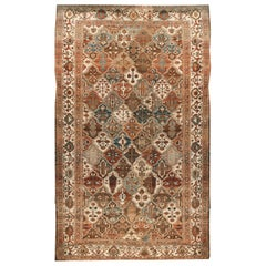 Antique Persian Baktiari Rug, circa 1910