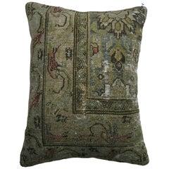 Antique Persian Bibikabad Pillow
