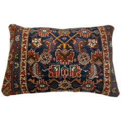 Antique Persian Bidjar Floor Pillow