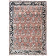 Antique Persian Bidjar Rug Carpet, circa 1900