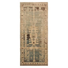 Antique Persian Bidjar Runner Rug 4 ft 10 in x 10 ft 10 in (1.47 m x 3.3 m)