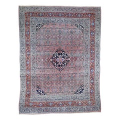Antique Persian Bijar Good Condition Pure Wool Hand Knotted Oriental Rug
