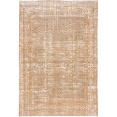 Antique Persian Distressed Rug