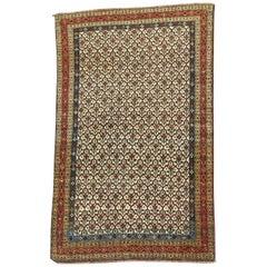 Antique Persian Doroksh Khorassan Rug