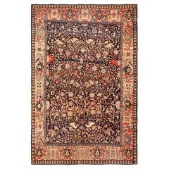Antique Persian Faharan Sarouk Rug. 6 ft 5 in x 9 ft 6 in
