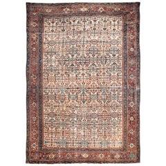Antique Persian Feraghan Rug, circa 1870, 10'2 x 13'9
