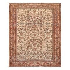 Antique Persian Feraghan Rug, circa 1890, 10'2 x 13'3