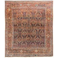 Antique Persian Fereghan Rug, circa 1890