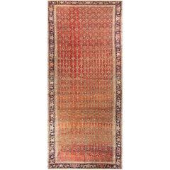 Antique Persian Gallery Size Heriz Rug, circa 1890