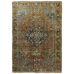 Antique Persian Ghashgaie Rug