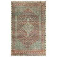 Antique Persian Halvai Bidjar Herati Design