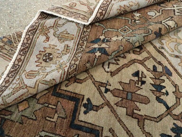 Antique Persian Heriz Carpet For Sale 7