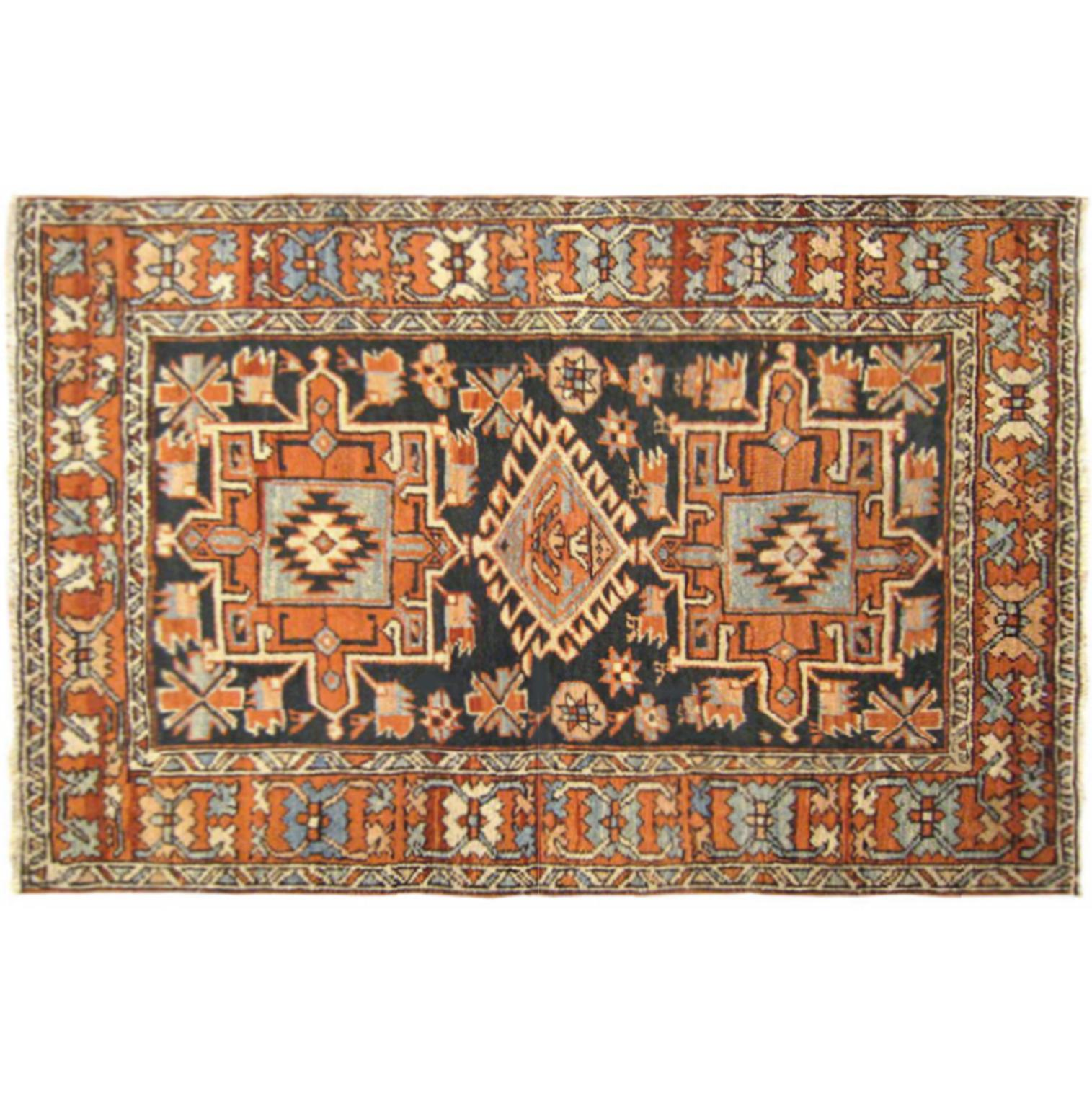 Beautiful Small Square Ter Size Antique Persian Kerman Rug Country Of Origin Persia Circa Date Turn The 20th Century Generally Speaking