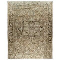 Antique Persian Heriz Rug  11'8 x 14'11
